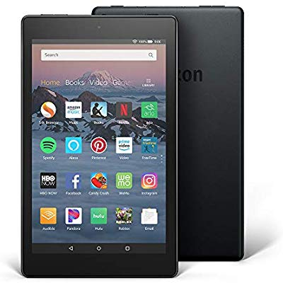 "All-New Fire HD 8 Tablet | 8"" HD Display, 16 GB, Black - with Special Offers by Amazon - Voucherist"
