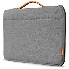 "ProCase 14-15.6 Inch Laptop Sleeve Case Protective Bag, Ultrabook Notebook Carrying Case Handbag for 14"" 15"" Samsung Sony ASUS Acer Lenovo Dell HP Toshiba Chromebook Computers -Light Grey by ProCase - Voucherist"