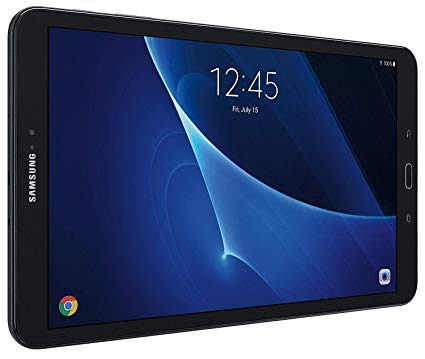 Samsung Galaxy Tab A SM-T580 10.1-Inch Touchscreen 16 GB Tablet (2 GB Ram, Wi-Fi, Android OS, Black) Bundle with 32GB microSD Card by Samsung - Voucherist