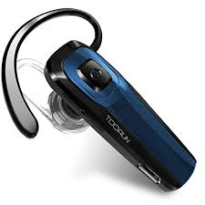 TOORUN M26 Bluetooth Headset with Noise Cancelling-Blue by TOORUN - Voucherist
