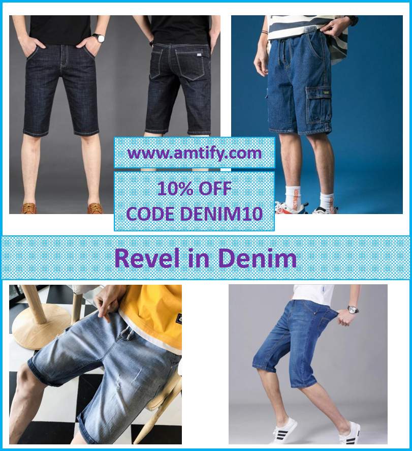 REVEL IN DENIM