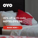 oyo hotels 20% off
