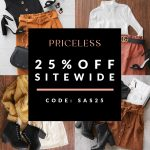 25% SITEWIDE EXCLUSIVE SALE