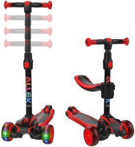 Allek 2-in-1 Kids Kick Scooter