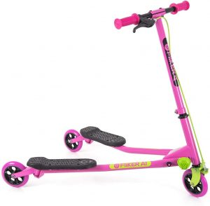 Yvolution B07DXZ8Y3P Y Fliker Air A1 Swing Wiggle Scooter