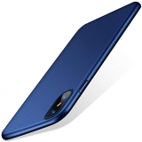 TORRAS Slim Fit iPhone Xs Case/iPhone X Case, Hard Plastic PC Ultra Thin Mobile Phone Cover Case with Matte Finish Coating Grip Compatible with iPhone X/iPhone Xs 5.8 inch, Navy Blue by TORRAS