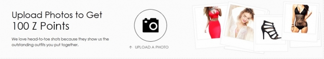 Upload Photos to Get 100 Z Points(50 Z Points=$1)