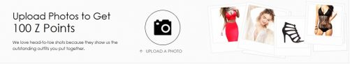Upload Photos to Get 100 Z Points(50 Z Points=$1)