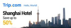Save up to 50% on Shanghai Hotel