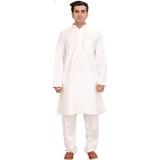 Exotic India Pure White Kurta Pajama – Pure White