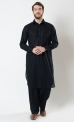 Mens Basic Cotton Shalwar Kameez Set