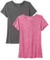 Amazon Essentials Women's 2-Pack Short-Sleeve Crewneck T-Shirt