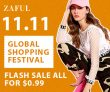 ZAFUL 11.11 Global Shopping Festival