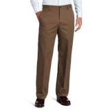 IZOD Men's American Chino Flat Front Straight-Fit Pant