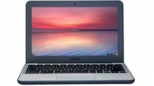ASUS Chromebook C202SA-YS02 11.6″ Ruggedized and Water Resistant Design with 180 Degree (Intel Celeron 4 GB, 16GB eMMC, Dark Blue, Silver) by Asus