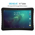 BENEVE 10 Tablet, 10.1″ 1920&1200 IPS Display, 2+32 GB, WiFi and Andriod System, Black – for Kids and Adult by BENEVE