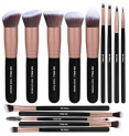 BS-MALL Makeup Brushes Premium Synthetic Foundation Powder Concealers Blending Eye Shadows Face Makeup Brush Sets(14 Pcs, Rose Golden)  by BS-MALL