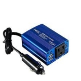 Foval 150W Power Inverter DC 12V to 110V AC Converter with 3.1A Dual USB Car Charger by FOVAL