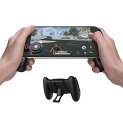 GameSir F1 Mobile PUBG Joystick Controller Grip Case for Smartphones, Mobile Phone Gaming Grip with Joystick, Controller Holder Stand Joypad with Ergonomic Design by GameSir