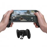 GameSir F1 Mobile PUBG Joystick Controller Grip Case for Smartphones, Mobile Phone Gaming Grip with Joystick, Controller Holder Stand Joypad with Ergonomic Design by GameSir