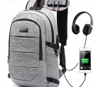 Laptop Backpack, Business Anti Theft Waterproof Travel Backpack with USB Charging Port & Headphone interface for College Student for Women Men,Fits Under 17 Inch Laptop Notebook by AMBOR by AMBOR