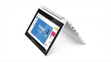 Lenovo Chromebook C330 2-in-1 Convertible Laptop, 11.6-Inch HD (1366 x 768) IPS Display, MediaTek MT8173C Processor, 4GB LPDDR3, 64 GB eMMC, Chrome OS, 81HY0000US, Blizzard White by Lenovo