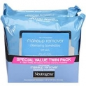 Neutrogena Makeup Removing Wipes, 25 Count, Twin Pack  by Neutrogena