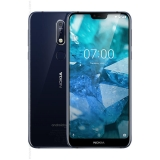 Nokia 7.1 – Android One – 64 GB – 12+5 MP Dual Camera – Dual SIM Unlocked Smartphone (at&T/T-Mobile/MetroPCS/Cricket/H2O) – 5.84″ FHD+ HDR Screen – Blue – U.S. Warranty by Nokia Mobile