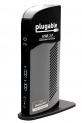 Plugable USB 3.0 Universal Laptop Docking Station for Windows (Dual Video HDMI & DVI/VGA, Gigabit Ethernet, Audio, 6 USB Ports) by Plugable