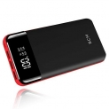 Power Bank 25000mAh Huge Capacity BCM Portable Charger Battery Pack Backup Battery Power Pack Dual Inputs 3 Output Ports with Intelligent LCD Compatible Smartphone, Tablet and More by Be-charming