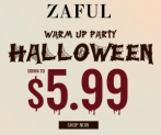 ZAFUL 2019 Halloween Warming-up: Down to $5.99
