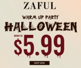 ZAFUL 2019 Halloween Warming-up: Down to $5.99