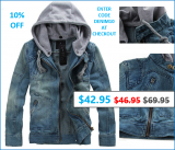 SPECIAL OFFER – SPECIAL DENIM JACKET