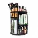 sanipoe 360 Rotating Makeup Organizer, DIY Adjustable Makeup Carousel Spinning Holder Storage Rack, Large Capacity Make up Caddy Shelf Cosmetics Organizer Box, Best…   by sanipoe