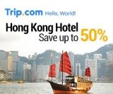 Hong Kong Hotel 50% OFF