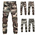 vermers Mens Casual Pants Jogger Camo Sportwear Baggy Harem Slacks Trousers Sweatpants
